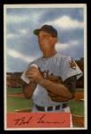 1954 Bowman #196  Bob Lemon  Front Thumbnail