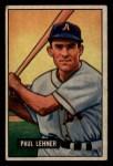 1951 Bowman #8  Paul Lehner  Front Thumbnail