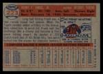 1957 Topps #223  Frank House  Back Thumbnail