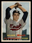 1957 Topps #113  Wilmer Mizell  Front Thumbnail