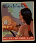 1947 Goudey Indian Gum #83   Trailing Prairie Schooner Front Thumbnail