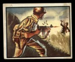 1950 Topps Freedoms War #12   Hunt for Snipers   Front Thumbnail