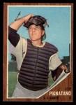1962 Topps #247  Joe Pignatano  Front Thumbnail