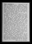1950 Callahan Hall of Fame  Tom Connolly  Back Thumbnail