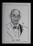1950 Callahan Hall of Fame  Bill Klem  Front Thumbnail