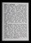1950 Callahan Hall of Fame  John McGraw  Back Thumbnail