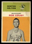 1961 Fleer #10  Bob Cousy  Front Thumbnail
