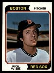 1974 Topps #84  Rick Wise  Front Thumbnail
