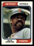 1974 Topps #115  Willie Horton  Front Thumbnail