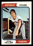 1974 Topps #24  John Hiller  Front Thumbnail