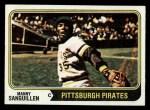 1974 Topps #28  Manny Sanguillen  Front Thumbnail
