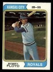 1974 Topps #41  Bobby Floyd  Front Thumbnail