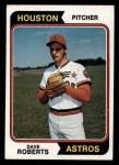 1974 Topps #177  Dave Roberts  Front Thumbnail