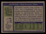 1972 Topps #313  Jim Beirne  Back Thumbnail
