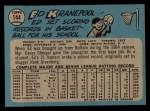 1965 O-Pee-Chee #144  Ed Kranepool  Back Thumbnail