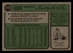 1974 Topps #275  Ron Hunt  Back Thumbnail