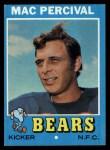 1971 Topps #176  Mac Percival  Front Thumbnail
