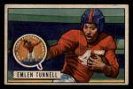 1951 Bowman #91  Emlen Tunnell  Front Thumbnail