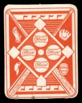 1951 Topps Red Back #22  Bob Feller  Back Thumbnail