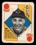 1951 Topps Red Back #22  Bob Feller  Front Thumbnail