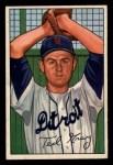 1952 Bowman #199  Ted Gray  Front Thumbnail