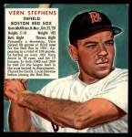 1952 Red Man #21 AL x Vern Stephens  Front Thumbnail