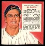 1954 Red Man #12 AL x Al Rosen  Front Thumbnail