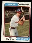 1974 Topps #618  Jim Mason  Front Thumbnail