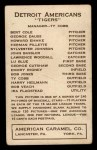 1922 E120 American Caramel  Lawrence Woodall  Back Thumbnail