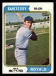 1974 Topps #652  Gail Hopkins  Front Thumbnail