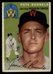 1954 Topps #6 WHT Pete Runnels  Front Thumbnail