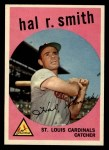 1959 Topps #497  Hal R. Smith  Front Thumbnail