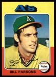 1975 Topps #613  Bill Parsons  Front Thumbnail