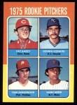 1975 Topps #615   -  Dennis Leonard / Tom Underwood / Pat Darcy / Hank Webb Rookie Pitchers   Front Thumbnail