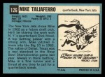 1964 Topps #126  Mike Taliaferro  Back Thumbnail