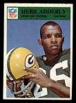 1966 Philadelphia #80  Herb Adderley  Front Thumbnail