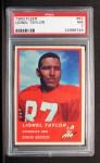 1963 Fleer #82  Lionel Taylor  Front Thumbnail