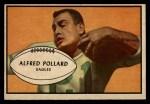 1953 Bowman #14  Alfred Pollard  Front Thumbnail