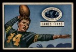 1951 Bowman #130  James Finks  Front Thumbnail
