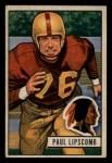 1951 Bowman #71  Paul Lipscomb  Front Thumbnail