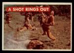 1956 Topps Davy Crockett Green Back #21   A Shot Rings Out  Front Thumbnail