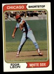 1974 Topps #501  Eddie Leon  Front Thumbnail