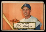 1952 Topps #36  Gil Hodges  Front Thumbnail