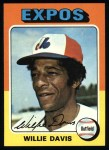 1975 Topps #10  Willie Davis  Front Thumbnail