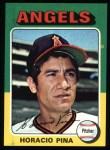 1975 Topps #139  Horacio Pina  Front Thumbnail