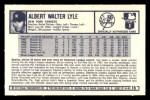 1973 Kellogg's #15  Sparky Lyle  Back Thumbnail