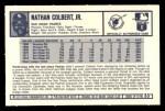 1973 Kellogg's #33  Nate Colbert  Back Thumbnail