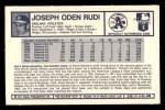 1973 Kellogg's #36  Joe Rudi  Back Thumbnail