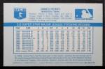 1970 Kellogg's #64  Jim Perry   Back Thumbnail