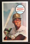 1970 Kellogg's #55  Ollie Brown   Front Thumbnail